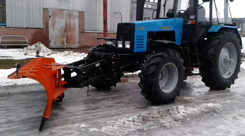 Передний отвал БелДТ-7002 (на трактор «Беларус-1221»)