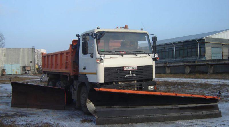 Боковой отвал НО-78-03 (на МАЗ 5516)